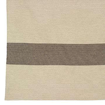 wool woven basket rug