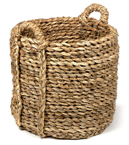Storage Bullrush Baskets portrait 3