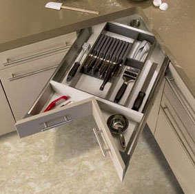 Storage Kitchen Corner Drawers portrait 3