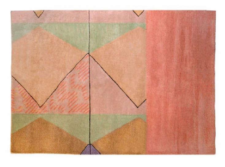 7 Handwoven Rugs in Pretty Pastels portrait 3