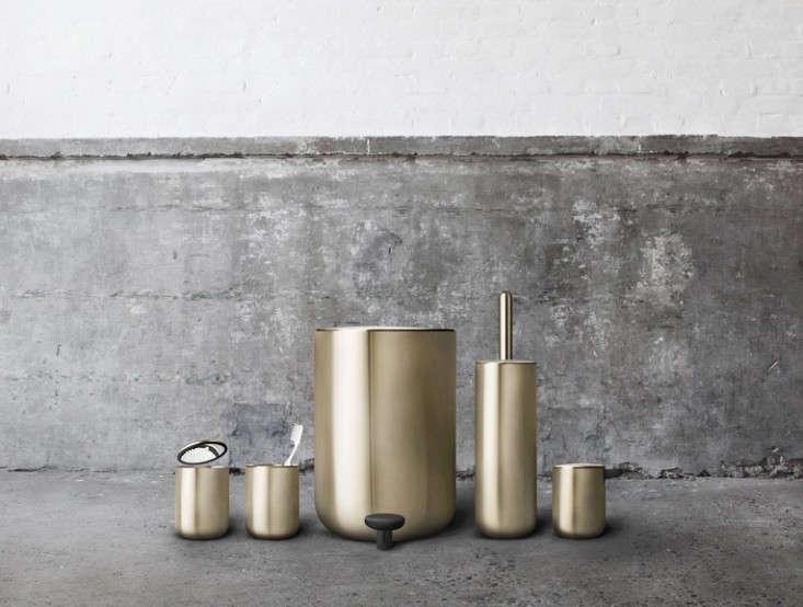 norm bathroom fixtures brass