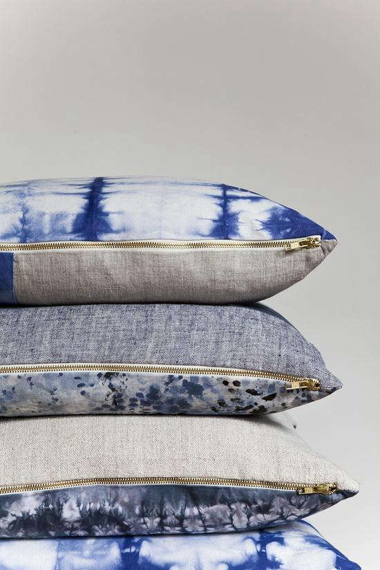 rebecca atwood pillows exposed brass zipper