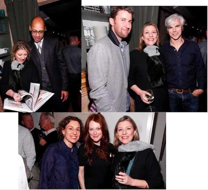 top row, l to r: remodelista&#8\2\17;s julie carlson with brenlen jinkens,  10