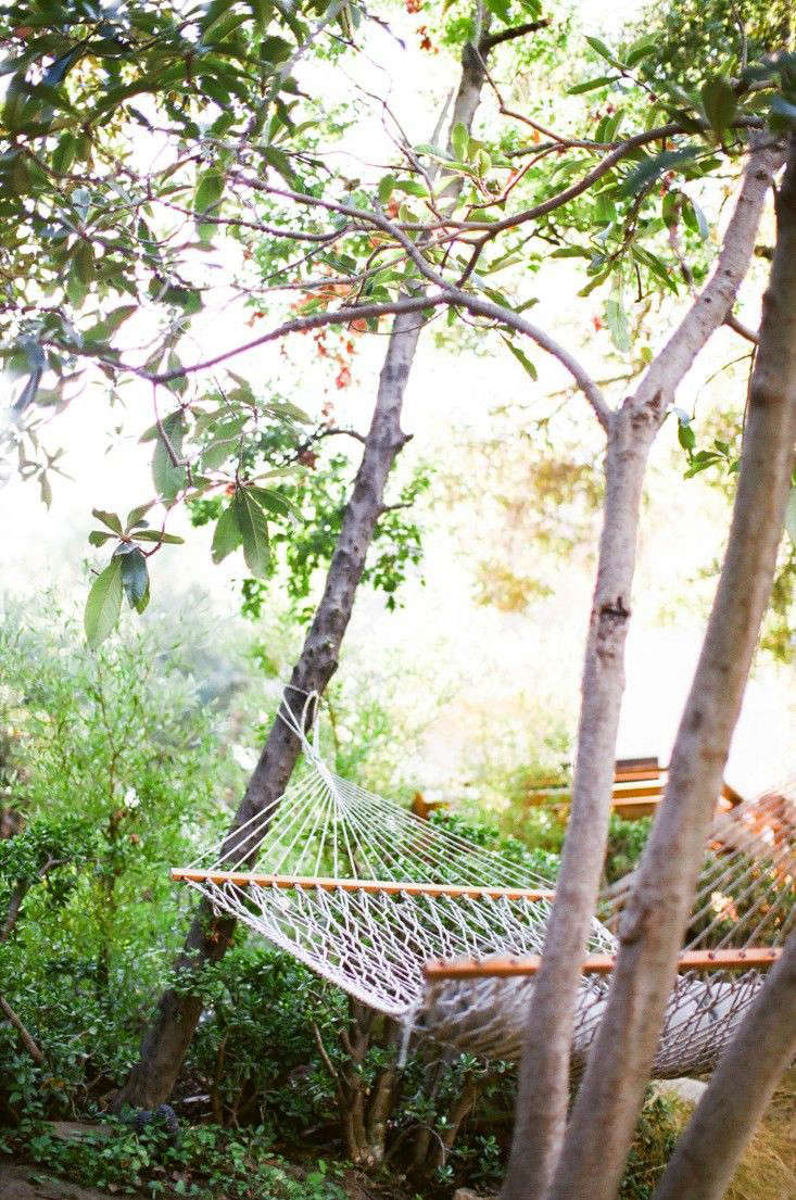 rope hammock kathleen whitaker Gardenista 0