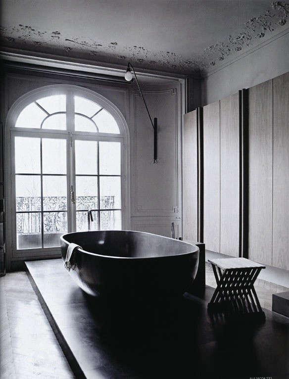 Dark Water 10 Modern Black Bathtubs portrait 8