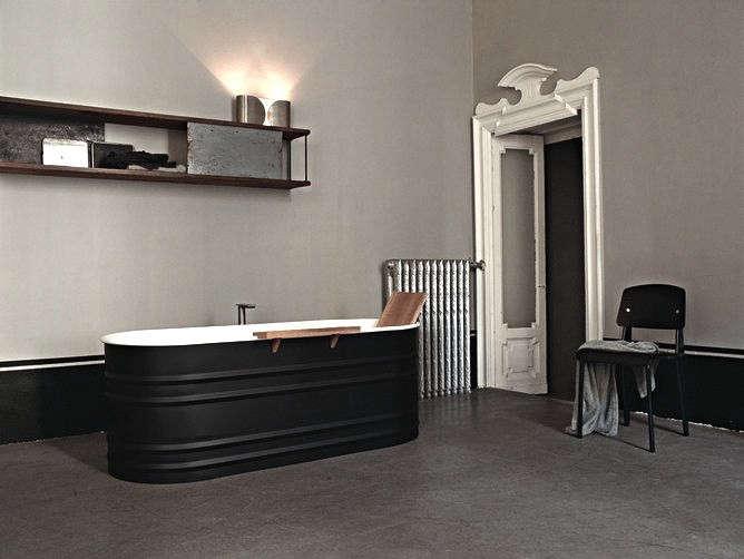 Dark Water 10 Modern Black Bathtubs portrait 3