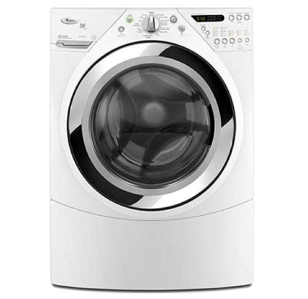 whirlpool duet steam washer large