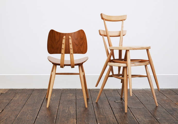 ercol reissue chairsare available at margaret howell shops in london, paris,  12