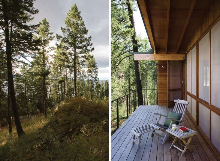 michelle takes a tour of an architect designed cabin on a montana lake, views i 13