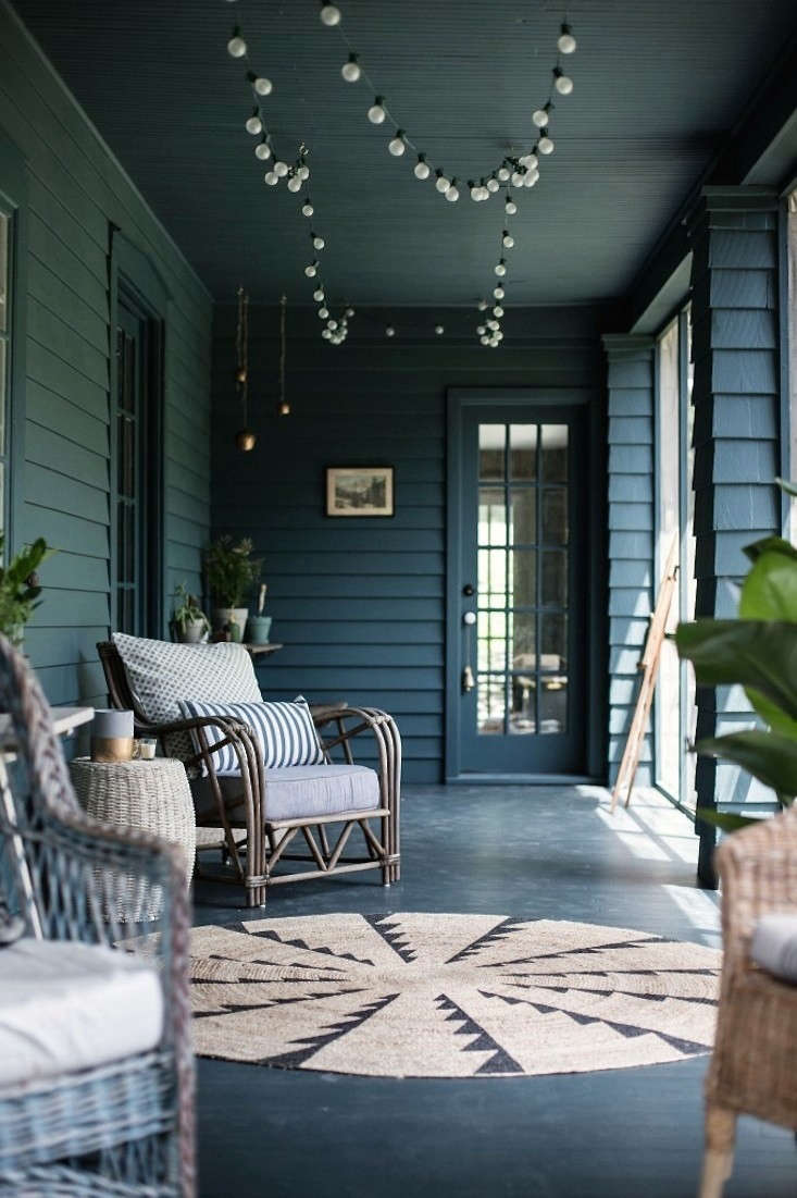 Remodelista favorite designers Jersey Ice Cream Co. take on a screened porch inBefore and After: A Summer Porch Rehab in Upstate New York.