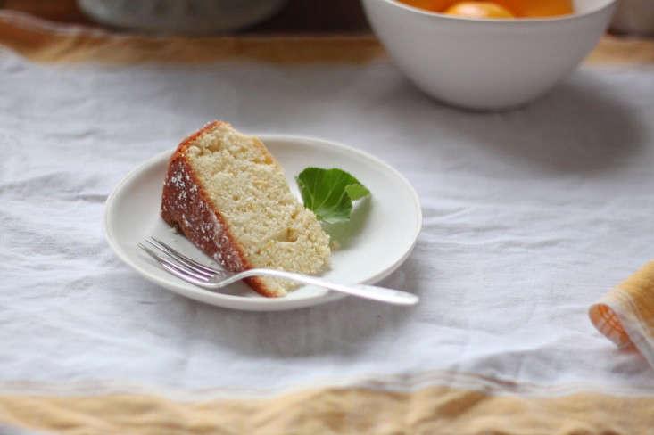 to make: tea cake with meyer lemons and rose geraniums. 9