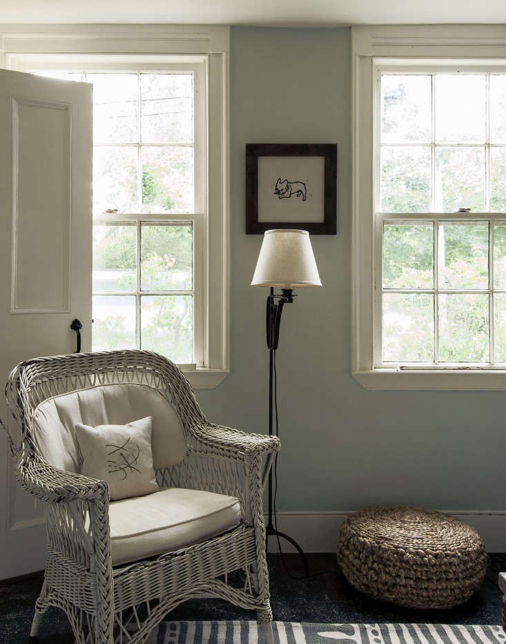 Window casings in The Soulful Side of Old Cape Cod: Justine's Family Cottage. Photograph by Matthew Williams.