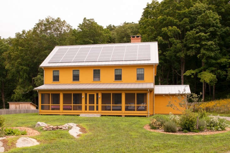 solar panels on a new farmhouse in connecticut by remodelista architect and des 9