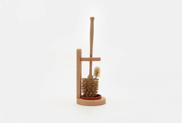 redecker beech wood toilet brush stand 9