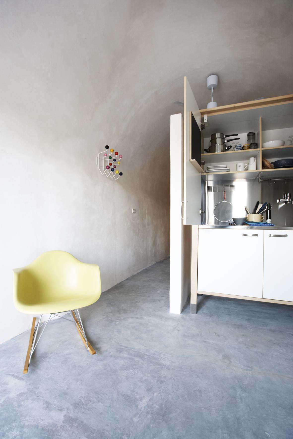 a kitchen tucked away in an ikea unit atmasseria alchimiain puglia. 16