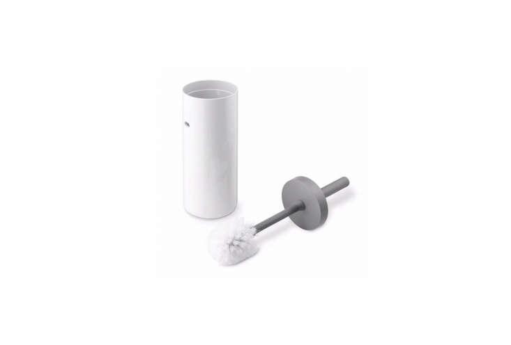 toilettenburste badserie lunar toilet brush in white 10