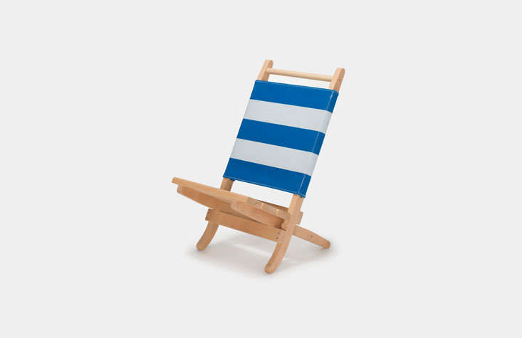 aoo barcelona'spepitu deck chair folds compactly for travel; €349. 9