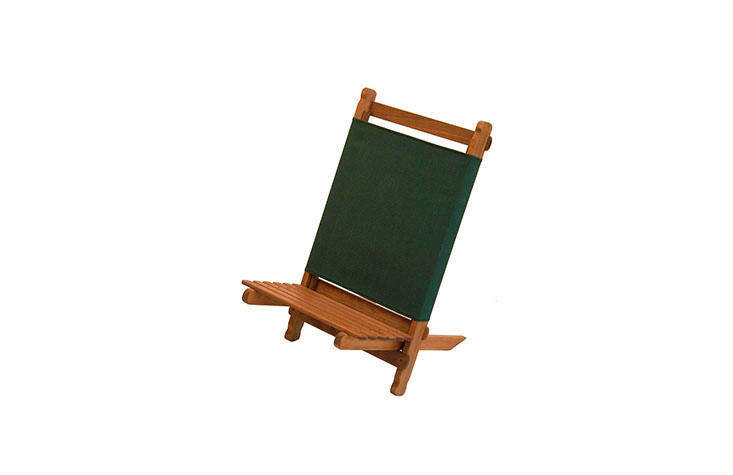 an old school version: the folding woodenpangean lounger is \$49.95 from byer 10