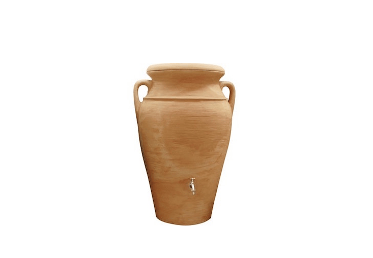 Consider stylish amphoras, for indoors and out, in Easy Pieces: Rainwater Collection Urns.