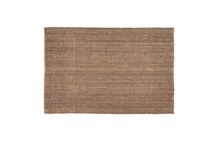a budget option: ikea&#8\2\17;s lohals flatwoven natural rug is \$79.99 for 13