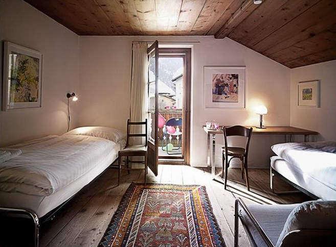 chesa wazzau bedroom | remodelista 16