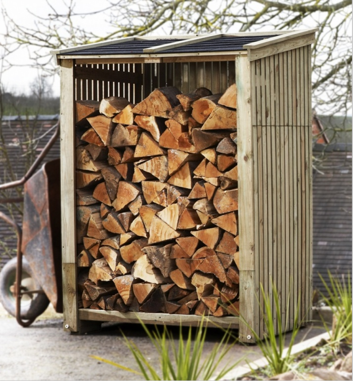 firewood log store shed euroheat gardenista 1