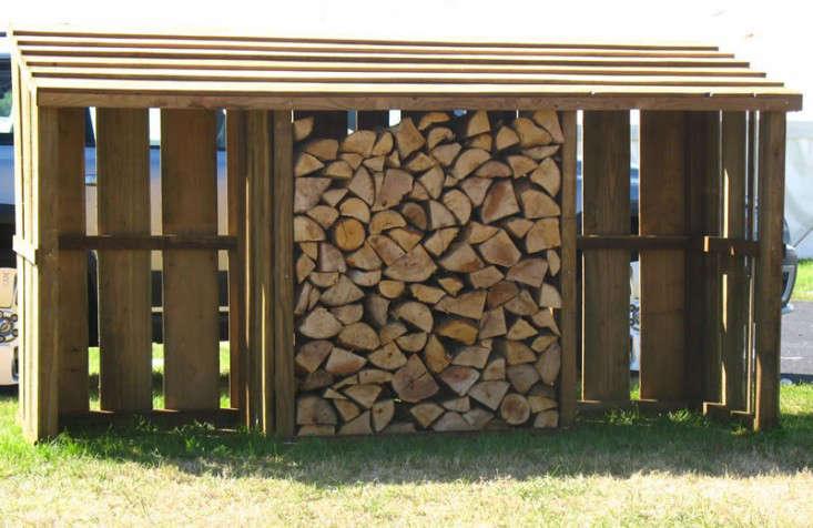 firewood storage 3 bay bin devon log store gardenista 1