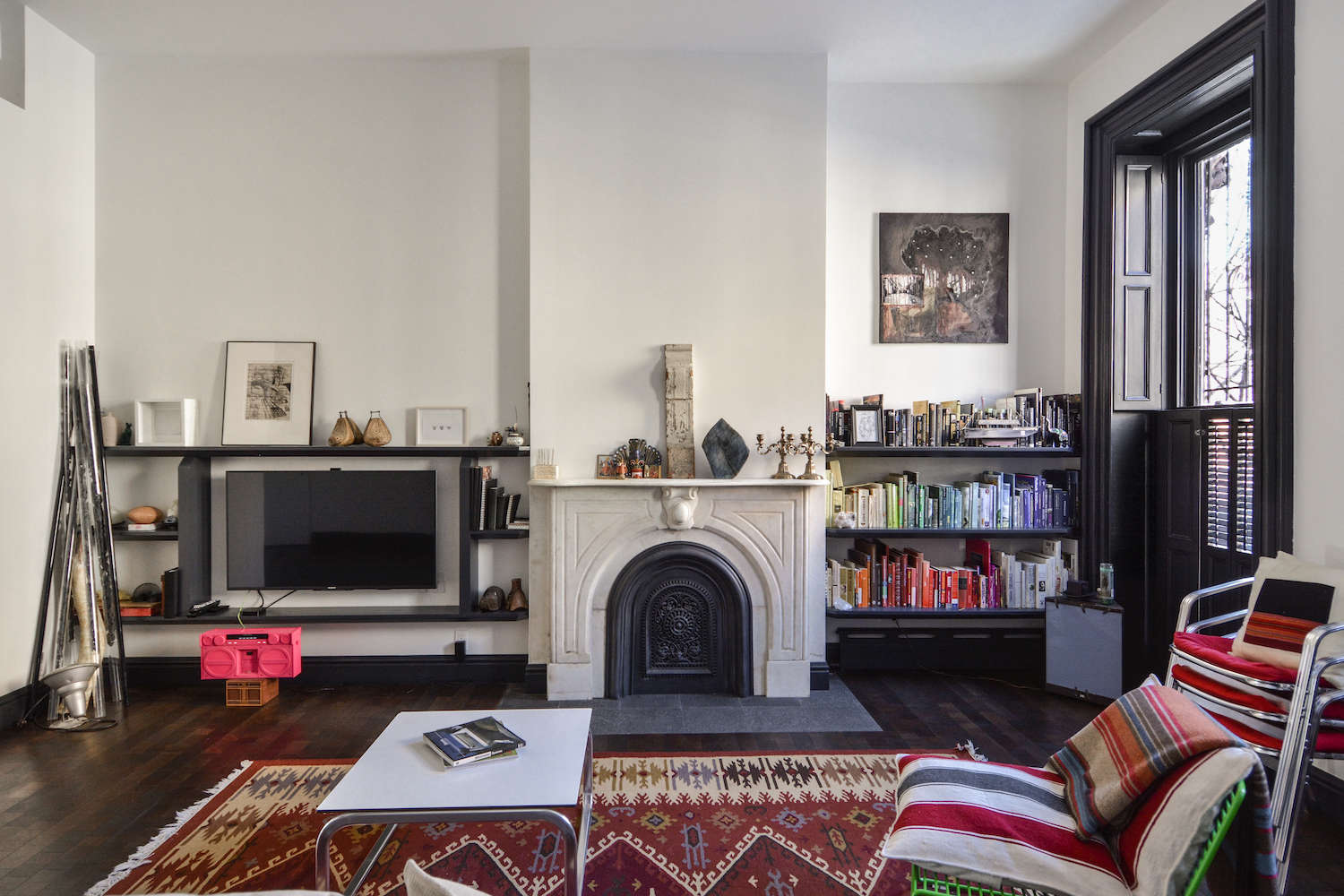 architects gregory merkel and catalina rojas's remodeled brooklyn townhouse | r 9