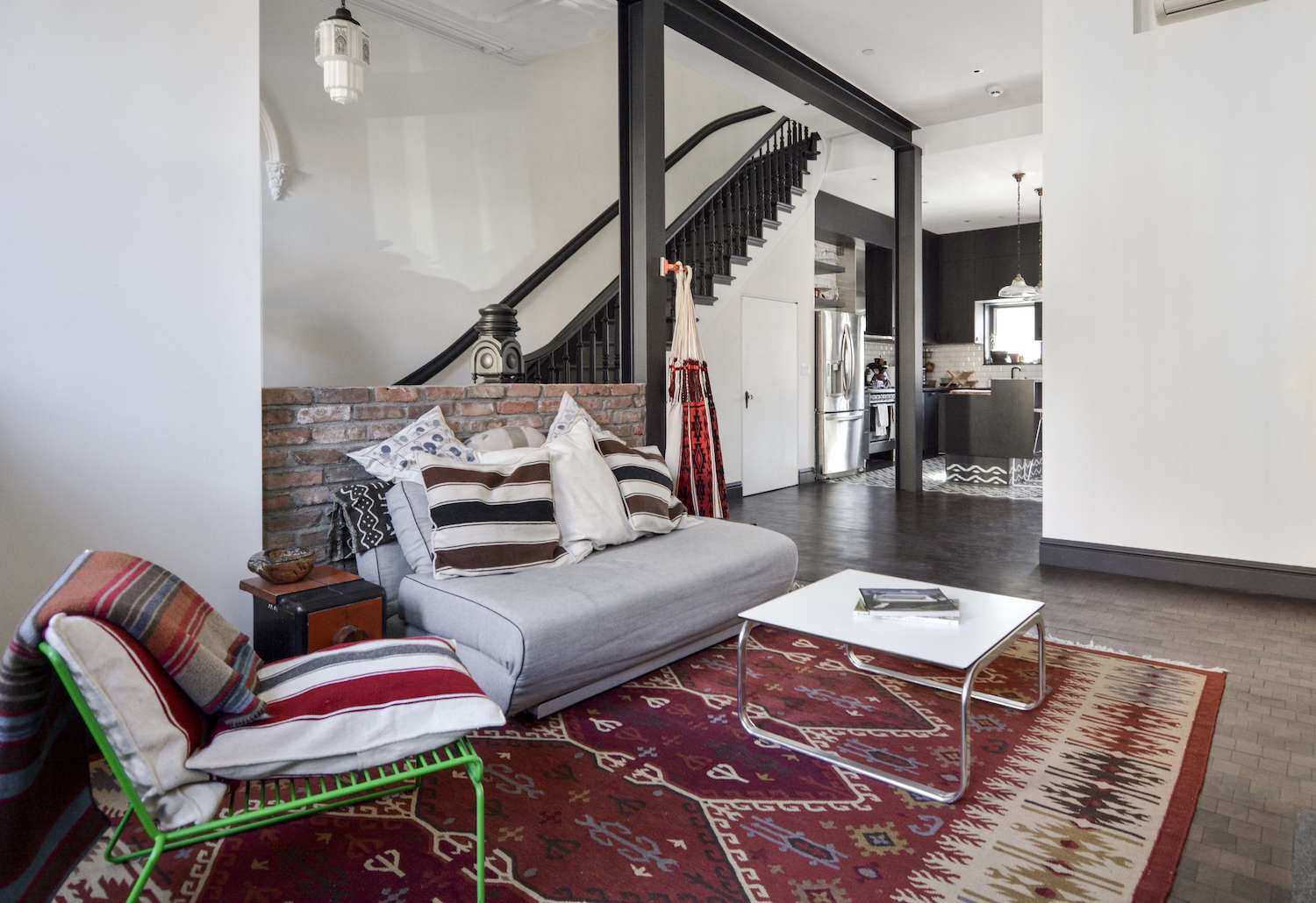 architects gregory merkel and catalina rojas's remodeled brooklyn townhouse | r 10