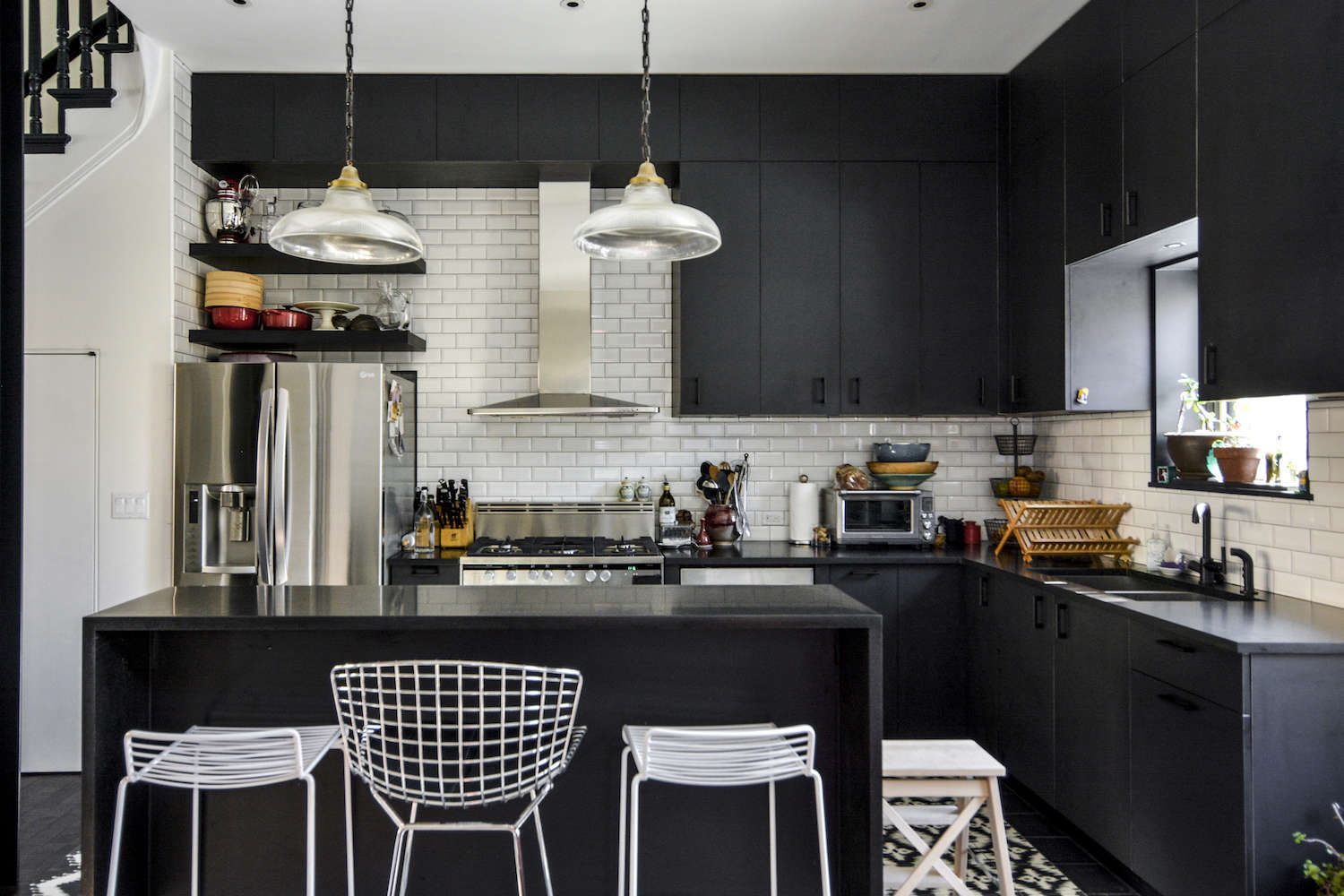architects gregory merkel and catalina rojas's remodeled brooklyn townhouse | r 11