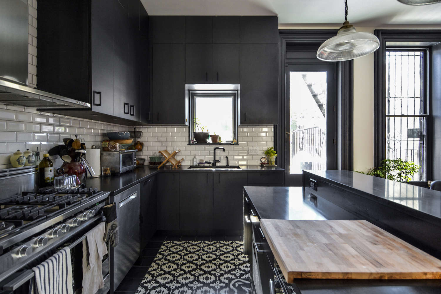architects gregory merkel and catalina rojas's remodeled brooklyn townhouse | r 12
