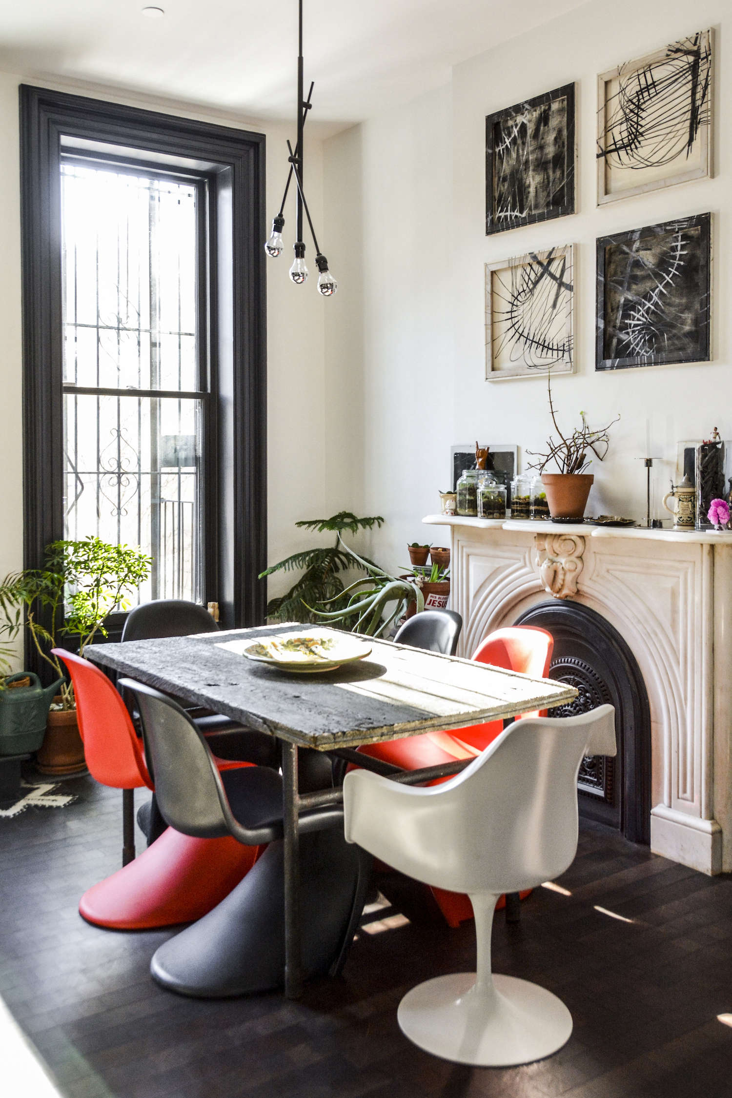 brooklyn dining room by gregory merkel and ana catalina rojas | remodelista 13