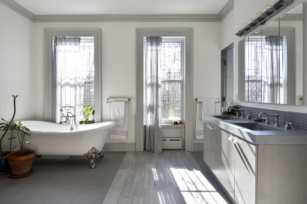 architects gregory merkel and catalina rojas's remodeled brooklyn townhouse | r 18