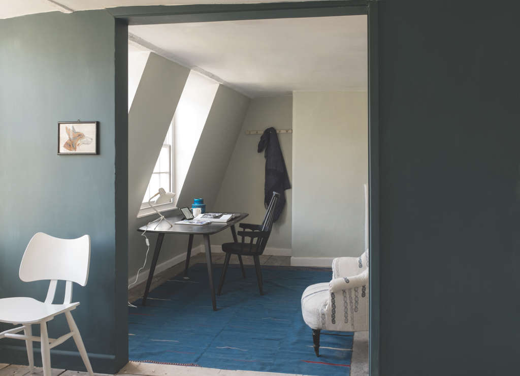 The Big Reveal Nine New Colors from Farrow amp Ball Farrow Ball Inchyra Blue Remodelista