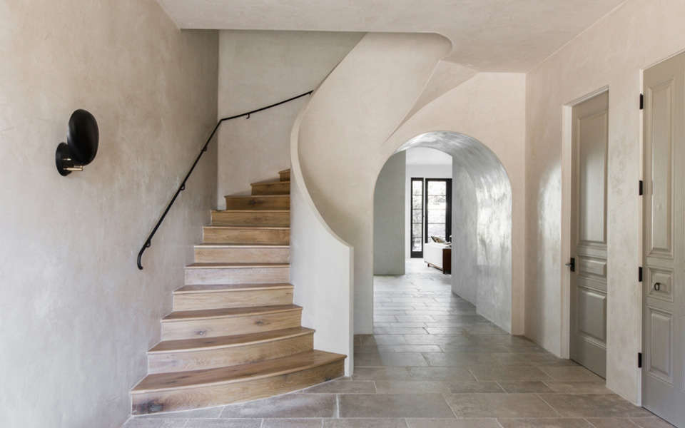 16 Design Trends for 2016 Leigh Herzig Curved Stairway, Photo by Laure Joliet