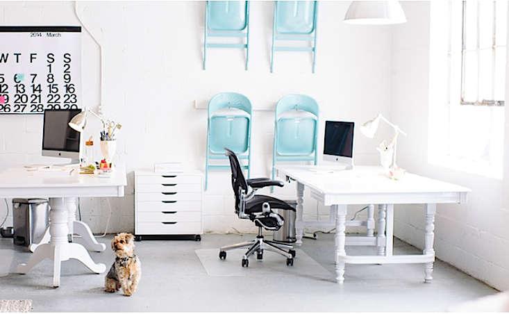 aqua chairs on wall 10