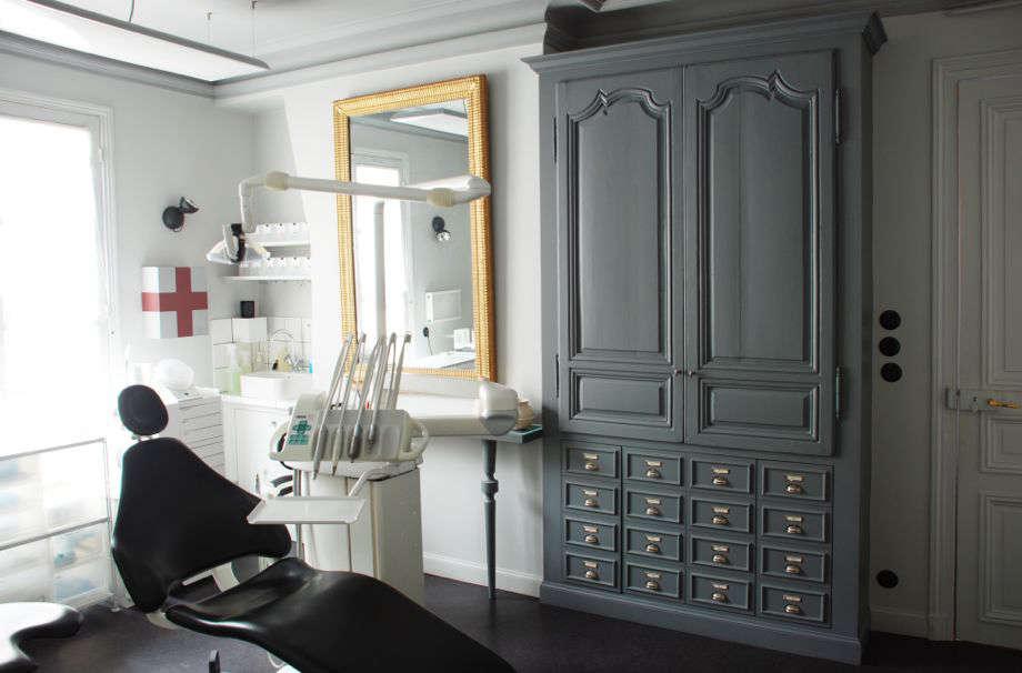 marianne evennou dentist office gray walls remodelista 9