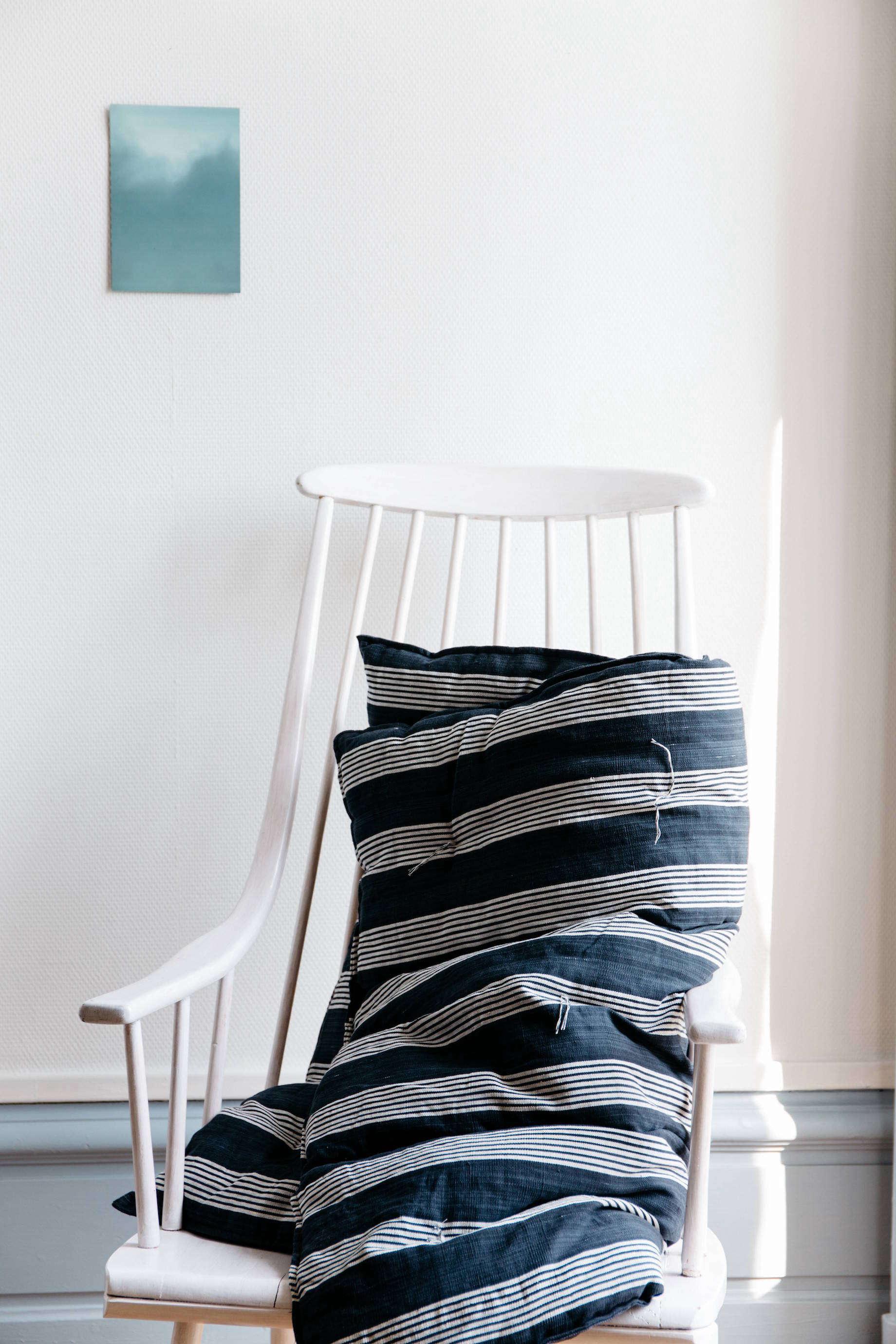 matelas striped overlay mattress from online shop le reperes des belettes | rem 16