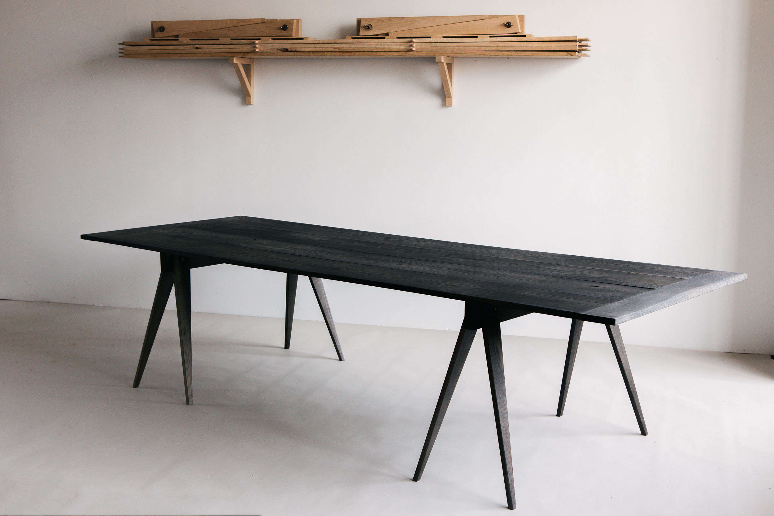 Black Creek Mercantile Sawhorse Table