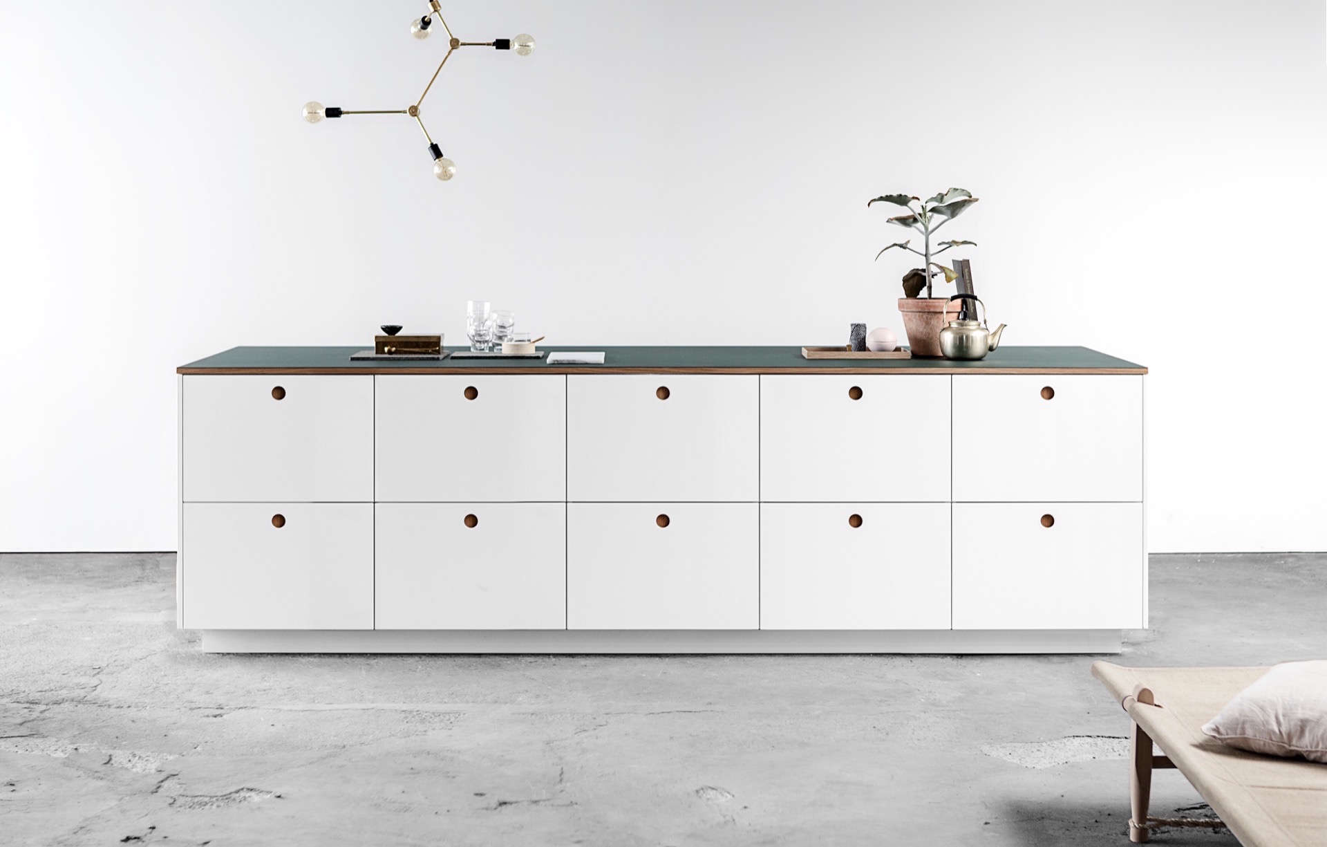 ikea hack: the basis kitchen from reform made with ikea cabinets and reform's f 9
