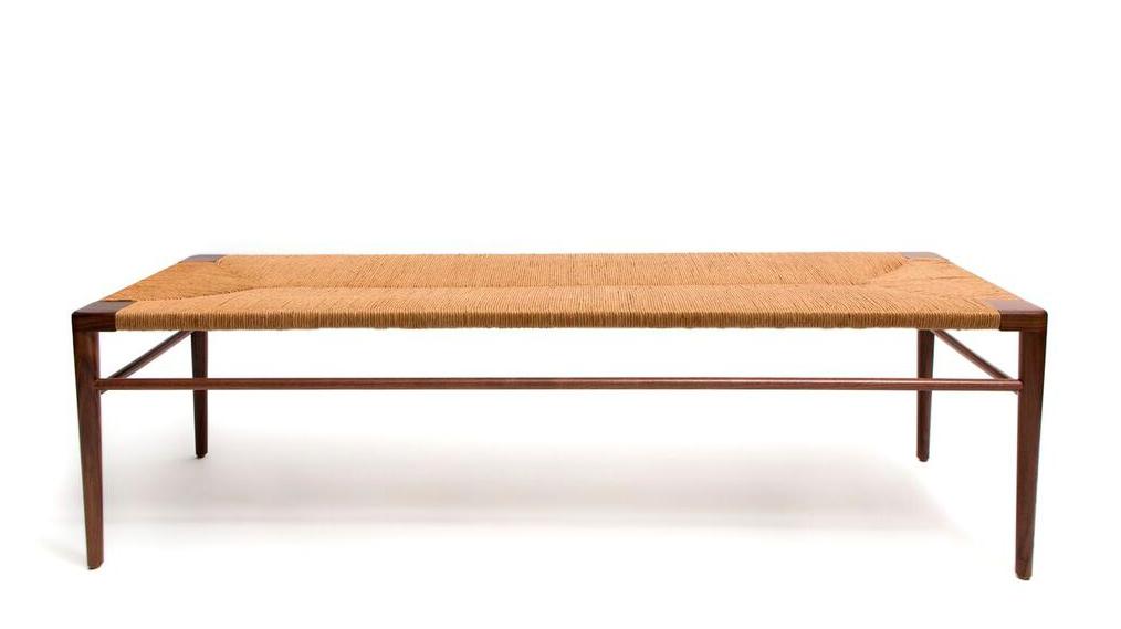 Smilow-Furniture-rush-bench | Remodelista