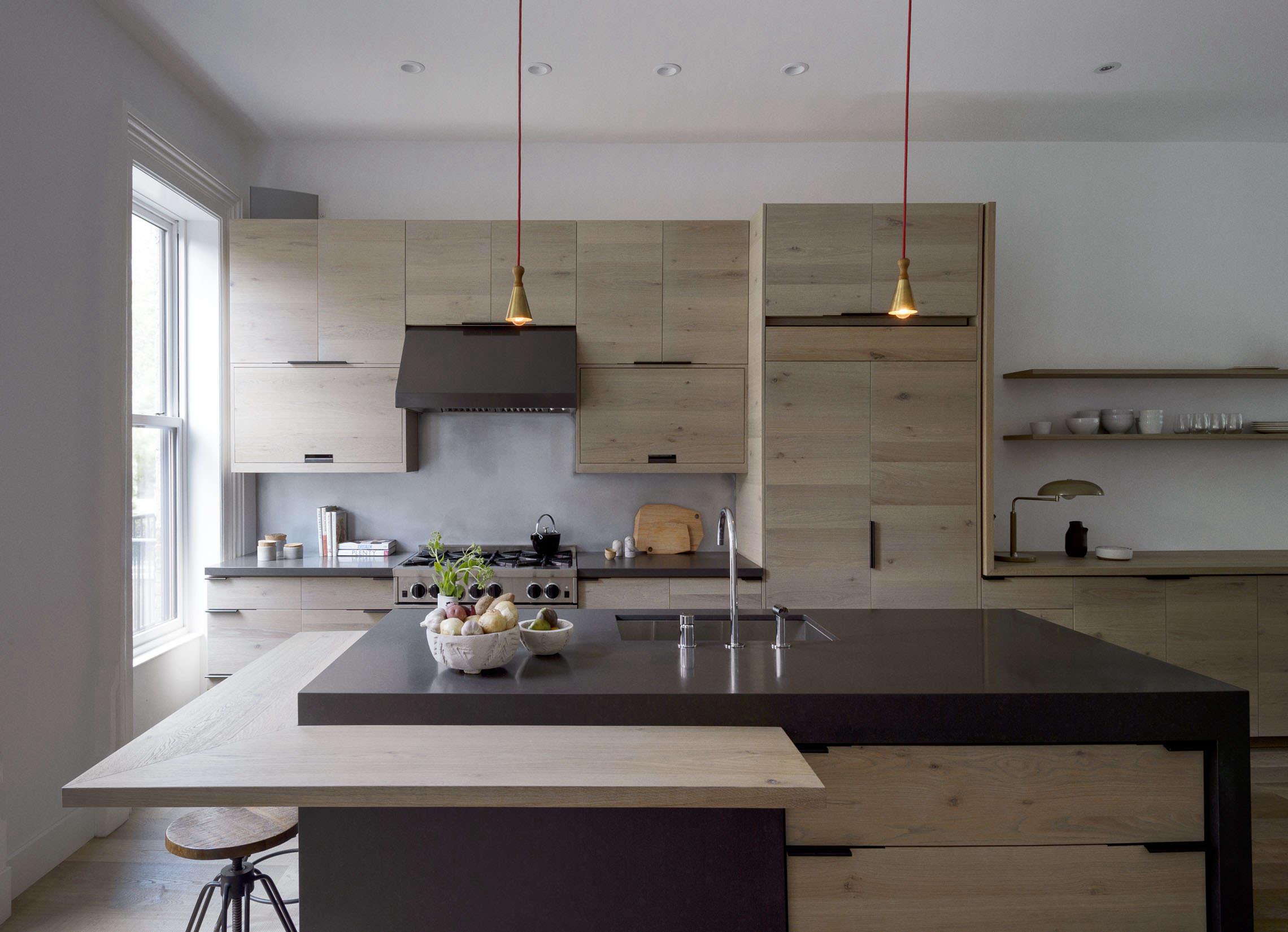 brooklyn kitchen design with custom wood cabinets by workstead, matthew william 9