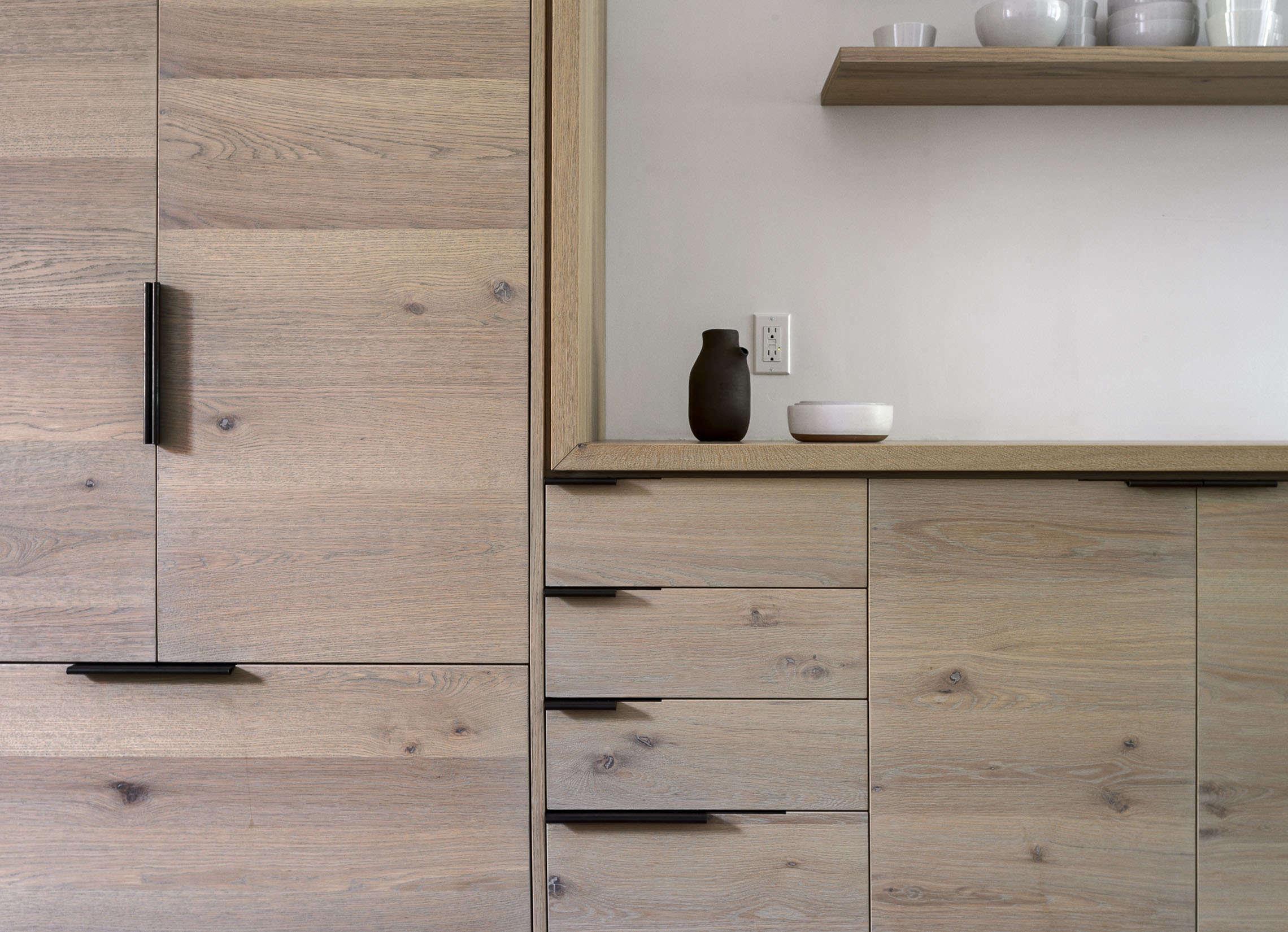 brooklyn kitchen remodel with custom oak cabinets, design by workstead, matthew 13