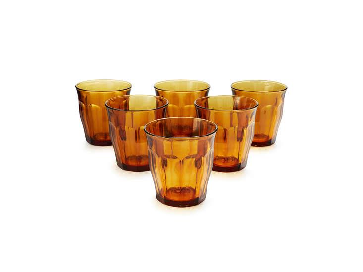duralex amber picardie glasses remodelista 28