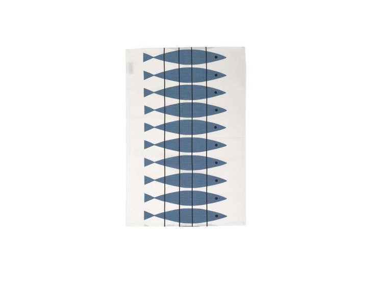 herring tea towel fish remodelista 32