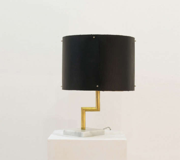 hito home black table lamp marble remodelista 15