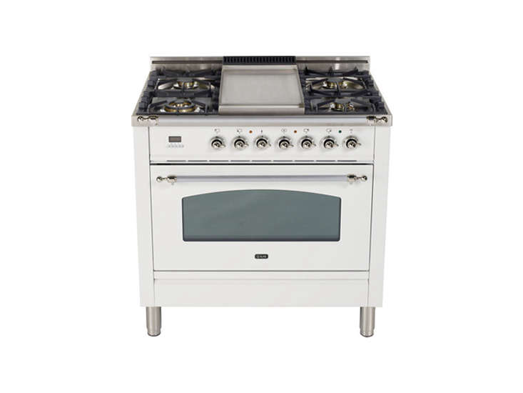 the ilve 36 inch gas range from the nostalgie collection is \$7,548 at aj madis 16