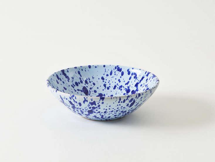 italian splatterware blue pasta bowl remodelista 29