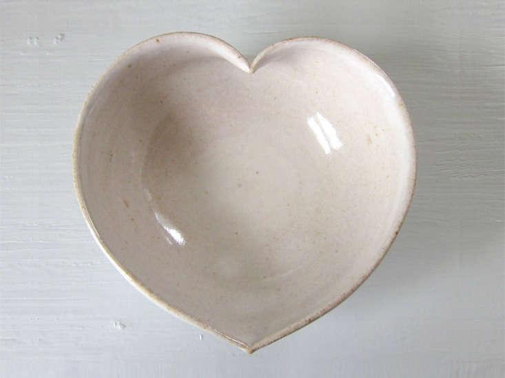 jdwolfe pottery heart dish ceramic remodelista 14