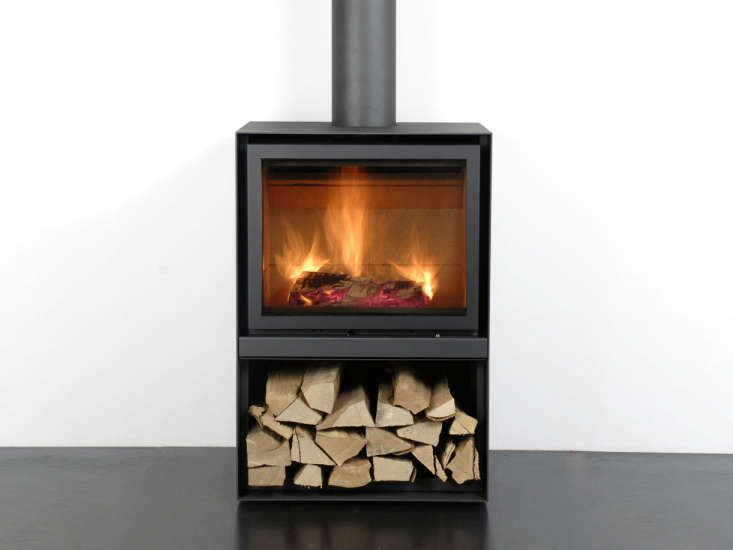 the stuv \16 h wood stoveis ahigh efficiency stove from belgium, designed s 17